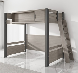 Wooden Bunk Bed with ladder (M0201)