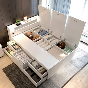 Bedframe with storage/ drawers (M0210)