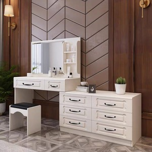 Dressing Table (M0066) w Chest of drawers