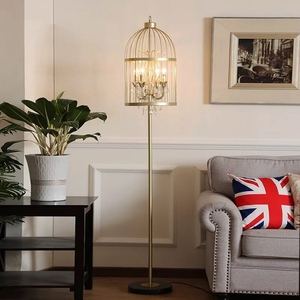 Birdcage Design Floor Lamp (M0072)