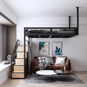 Loft Bed with Storage stairs (M0183)