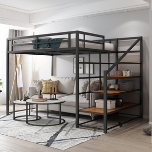 Loft Bedframe with stairs (M0142)